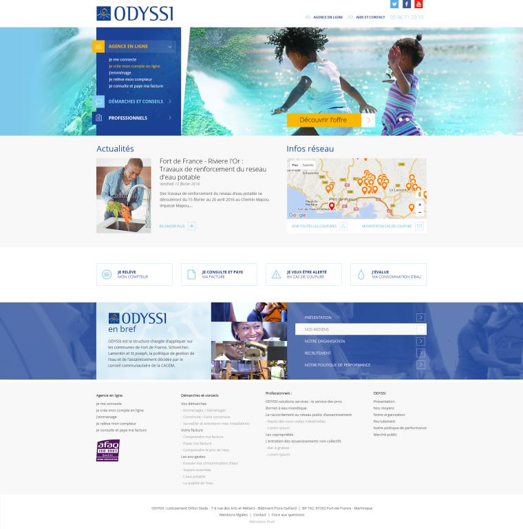 Redesign de site internet